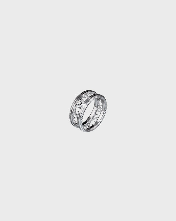Filigree Ring 0,06 ct – Kalevala Jewelry
