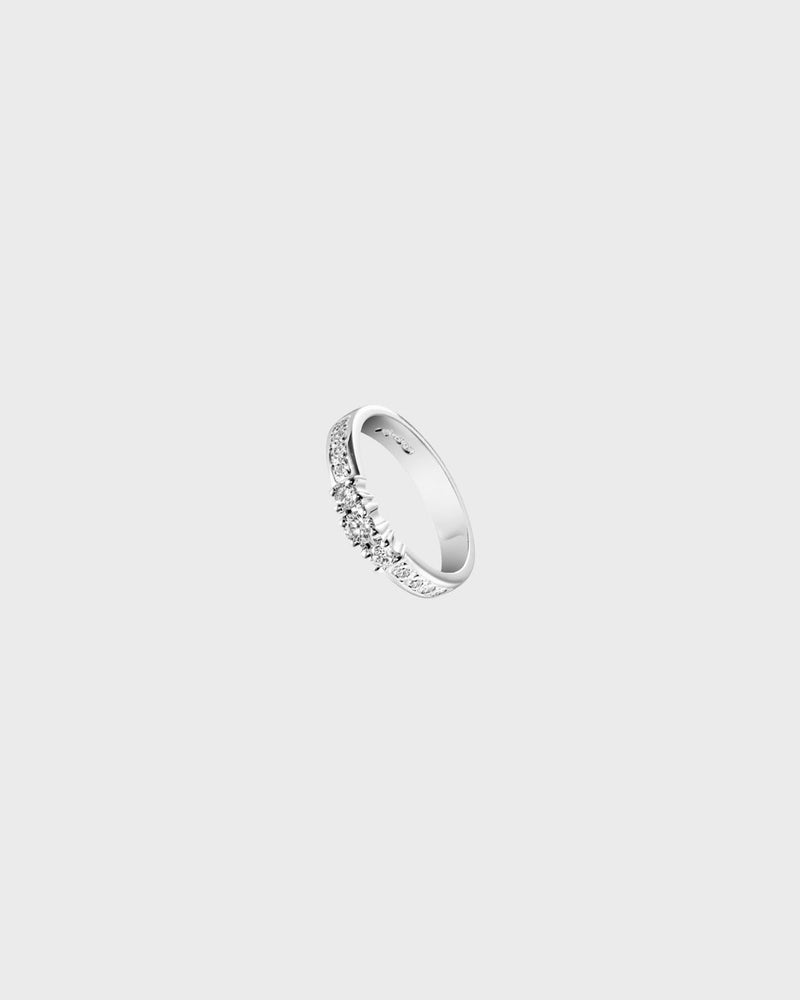Jääpisarat Ring 18K 0,11ct – Kalevala Jewelry