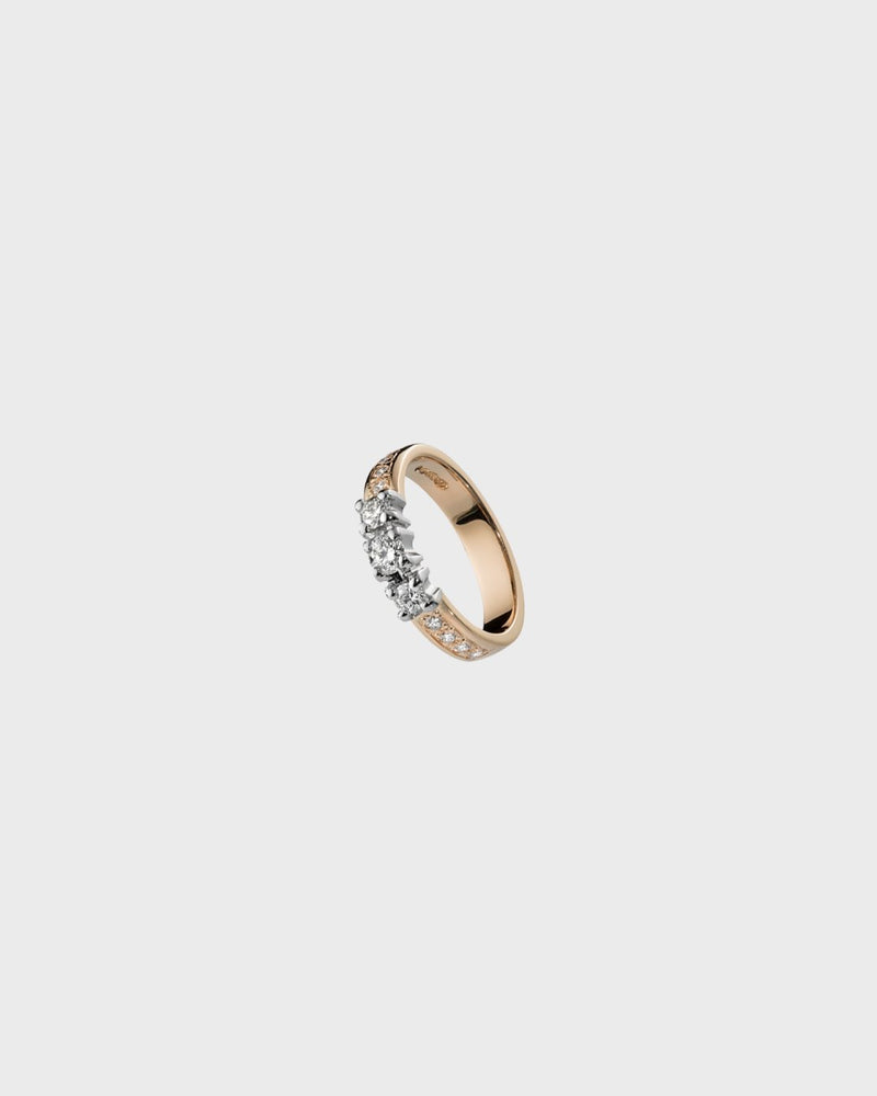 Jääpisarat Ring 18K 0,16ct – Kalevala Jewelry