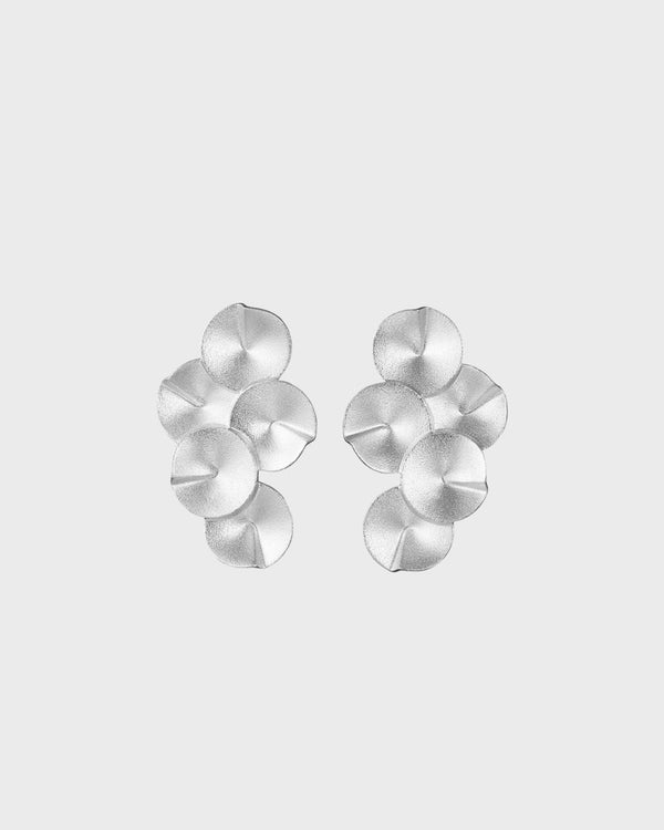 Echoes Earrings big – Kalevala Modern