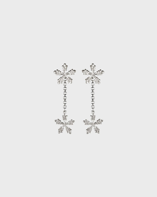 Snow Crystal Earrings – Kalevala Modern