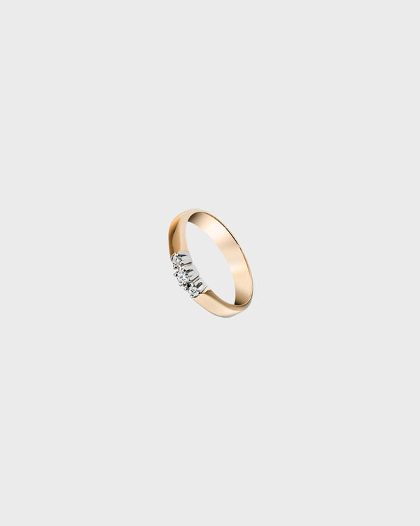 Timanttisilmu Ring 1x0,05 2x0,03 – Kalevala Jewelry