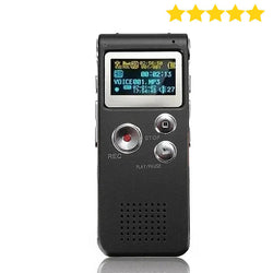 Digital Voice Recorder, Audio Voice Recorder MP3 Recorder Player - Surest Deals Store