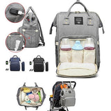 Waterproof Baby Diaper Bag Tote Nappy Backpack Mummy Travel USB Port Backpack - Surest Deals Store