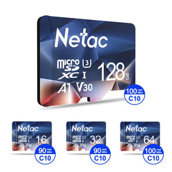 Netac Memory Card, Micro SD Flash Card 16GB 32GB 64GB 128GB - Surest Deals Store