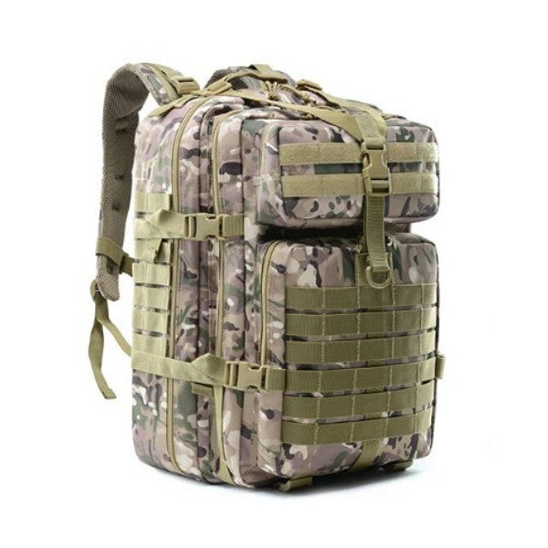 Tactical 45L Army Military Waterproof Outdoor Hiking Camping Traveling Rucksack Backpack - Surest Deals Store