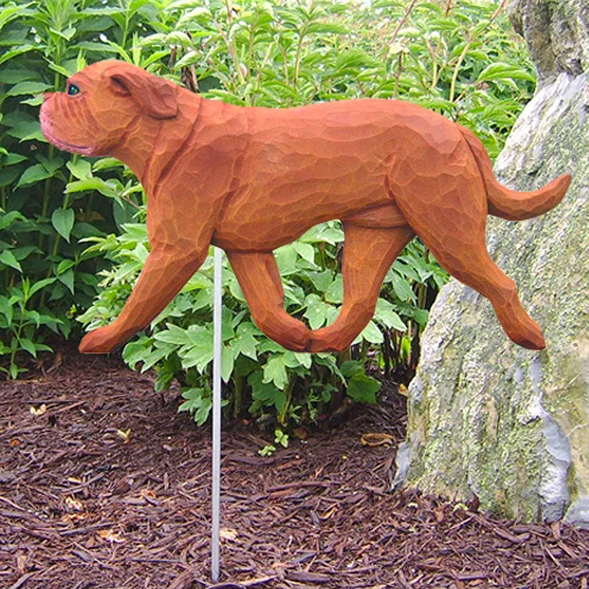 Dog Resin Garden Landscaping Yard Stake Accent