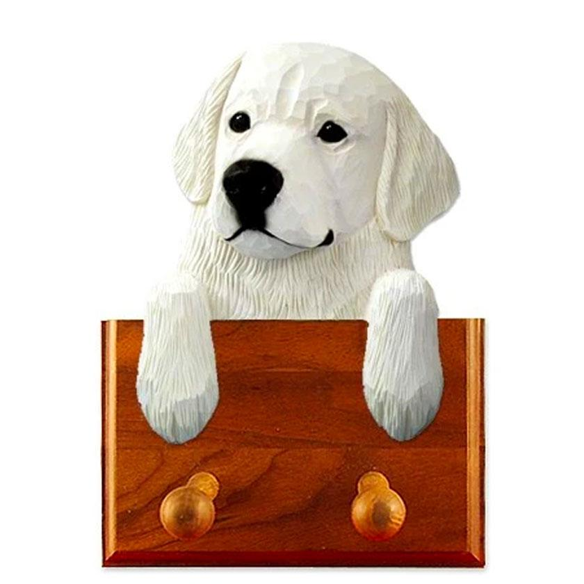 Wooden Dog Leash Holder 2 Peg
