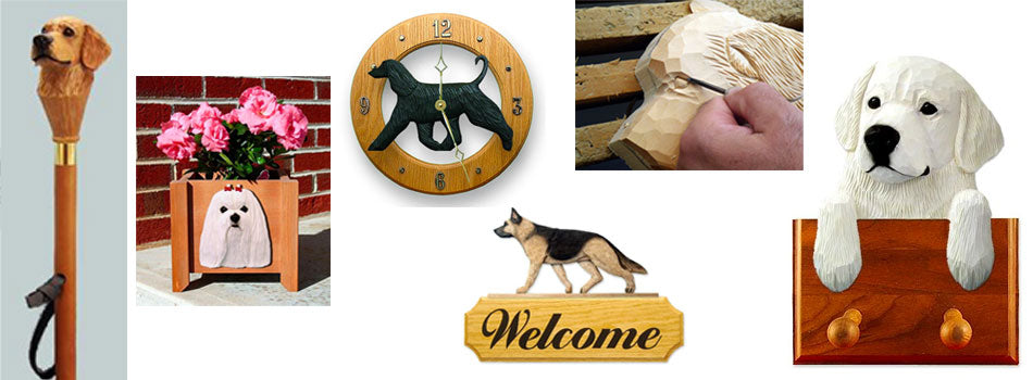 Handcrafted Dog Wood Products for Man's Best Friend
