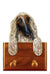 Afghan Hound Dog Leash Holder Fawn