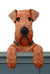 Airedale Dog Door Topper