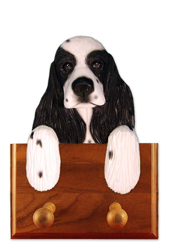 American Cocker Spaniel Dog Leash Holder Black