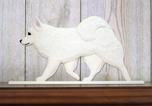 American Eskimo Dog in Gait Topper