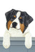 Australian Shepherd Dog Door Topper Black Tri