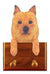 Australian Terrier Dog Leash Holder