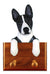 Basenji Dog Leash Holder Black And White