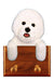Bichon Frise Dog Leash Holder