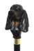 Coonhound Black and Tan Dog Hiking Stick