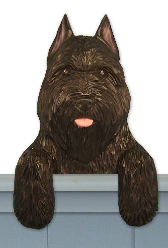 Bouvier des Flandres Dog Door Topper Black