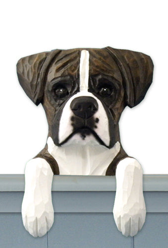 Boxer Natural Dog Door Topper Brindle