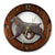 Boykin Spaniel Dog Light Oak Hand Crafted Wall Clock