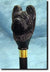 Briard Dog Hand painted Hiking Staff