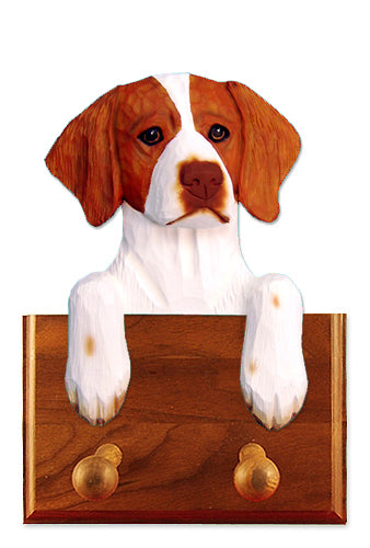 Brittany Dog Leash Holder Orange