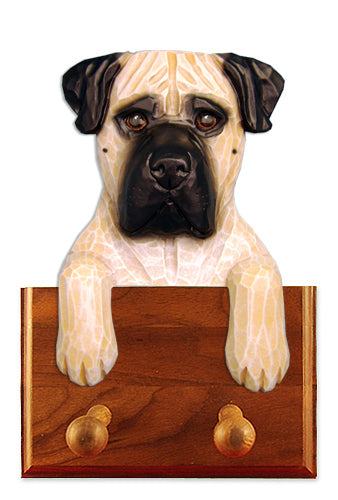 Bullmastiff Dog Leash Holder Brindle
