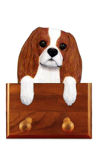 Cavalier King Charles Spaniel Dog Leash Holder Blenheim