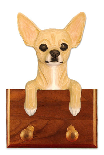 Chihuahua Dog Leash Holder Black