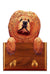Chow Chow Dog Leash Holder Red