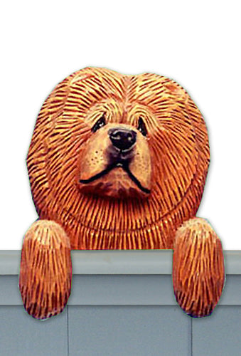 Chow Chow Dog Door Topper Black