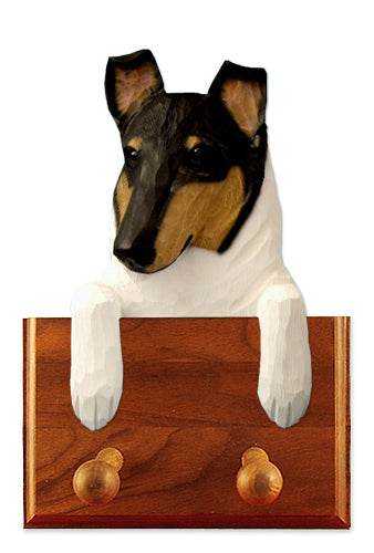 Collie Smooth Dog Leash Holder Sable