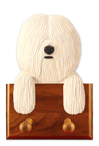 Coton De Tulear Dog Leash Holder White