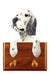 English Setter Dog Leash Holder Blue Belton