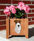 Fox Terrier Wire Dog Planter Box