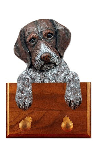 German Wirehaired Pointer Dog Leash Holder