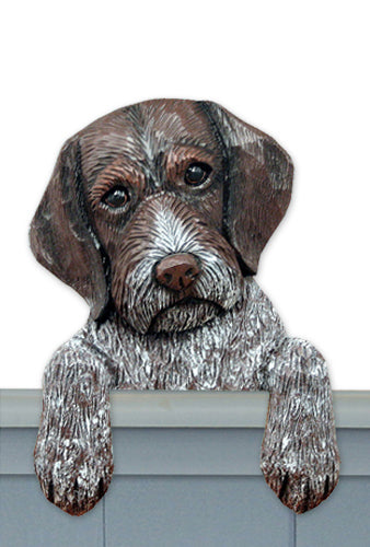 German Wirehaired Pointer Dog Door Topper