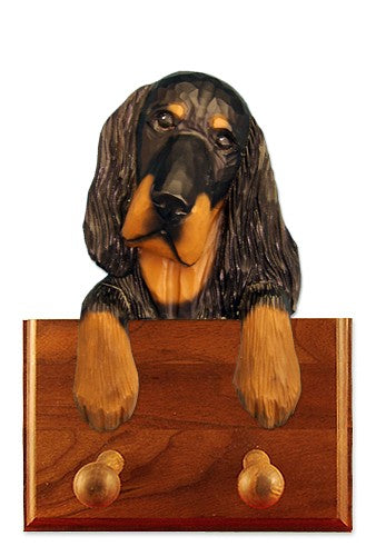 Gordon Setter Dog Leash Holder
