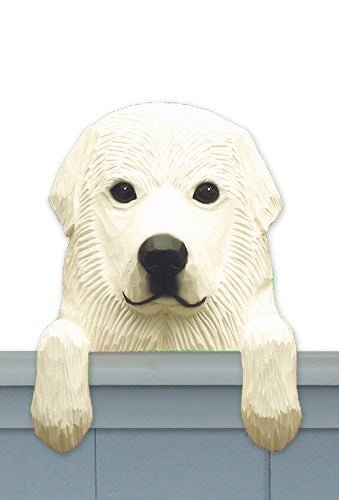 Great Pyrenees Dog Door Topper