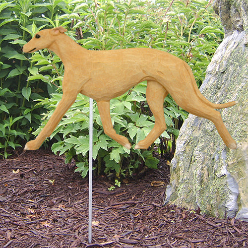 Greyhound Garden Landscaping Stake Black