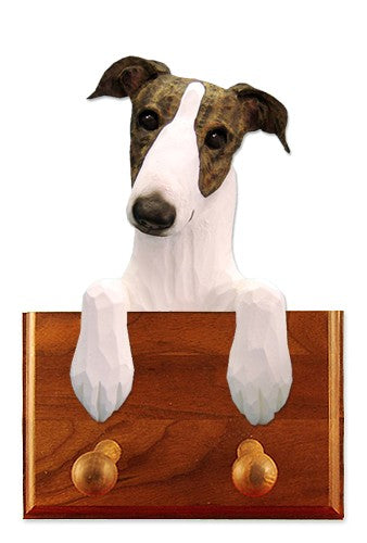 Greyhound Dog Leash Holder Black