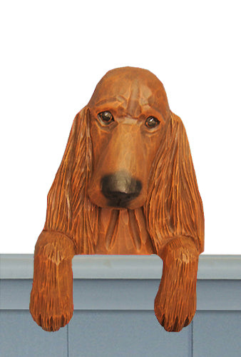 Irish Setter Dog Door Topper