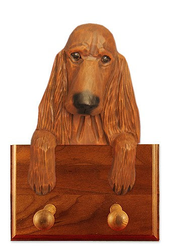 Irish Setter Dog Leash Holder