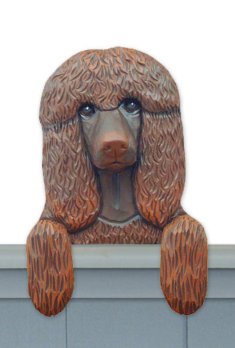Irish Water Spaniel Dog Door Topper