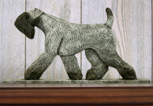 Kerry Blue Terrier Dog in Gait Topper