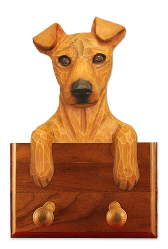 Miniature Pinscher Natural Dog Leash Holder Black And Tan