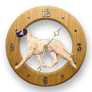 Great dane Natural Dog Light Oak Hand Crafted Wall Clock Brindle