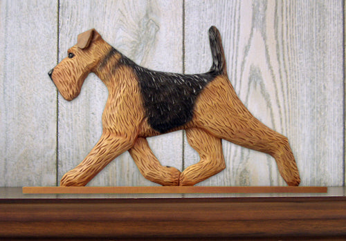 Airedale Dog in Gait Topper