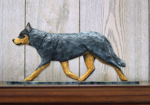 Australian Cattle Dog Dog in Gait Topper Blue